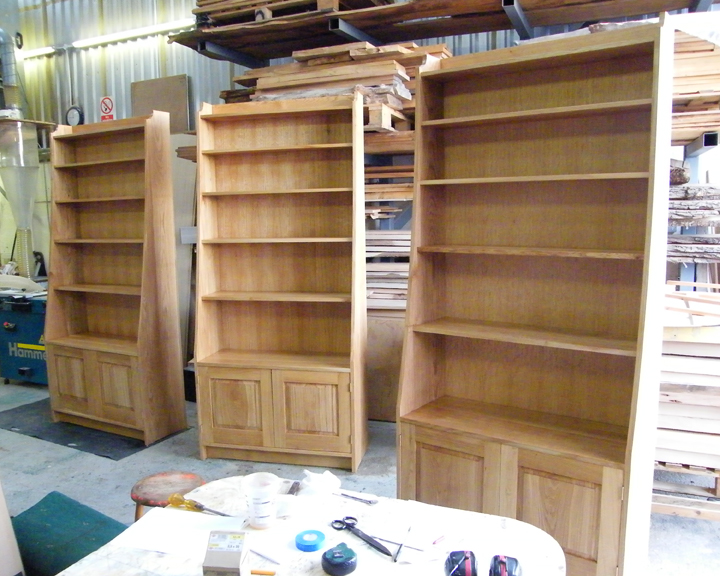 ... Built To Fit Bookcase Storage Units ...