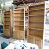 Built-to-fit bookcase storage units