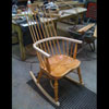 Windsor Chairs are a very strong, light and comfortable design of chair that have been made in Britain for a long time.