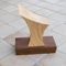 A range of trophies was commissioned for men and women's orienteering events. The men's trophy was carved in oak, whilst the women's trophies used cherry. All bases were stained oak.